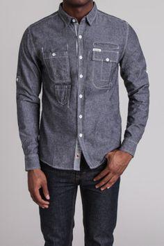 Plain Woven Shirt