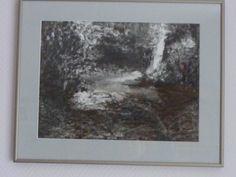 40x60 houtskool tekening op papier
