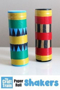 Easy preschool craft idea make a shaker to shake and dance with! Use recycled materials to make thi super quick easy and fun craft for kids crafts kids preschool projects Easy Preschool Crafts, Recycled Crafts Kids, Fun Crafts For Kids, Toddler Crafts, Preschool Activities, Easy Crafts, Art For Kids, Kid Art, Preschool Projects
