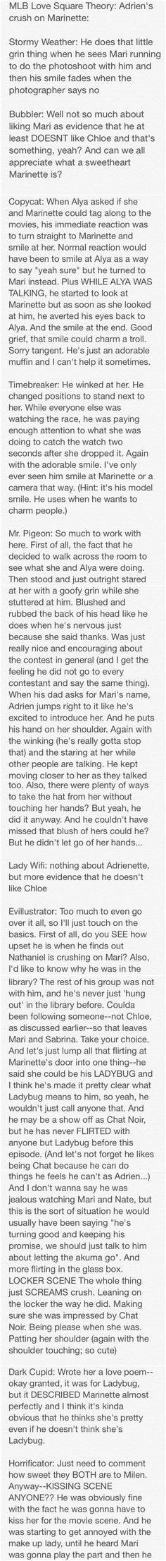 Adrien's Crush pt.1