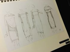 ideas wool skirts & dress  parte V by Piero Cascioli, via Behance
