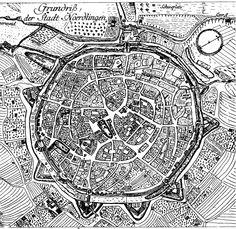El plano urbano radiocéntrico. Tipología de planos de ciudades II