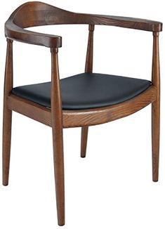 Poly and Bark Hans Wegner Style Kennedy Chair, Walnut