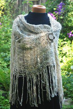 214d59a2 Summer shawl wedding shawl handwoven shawl prayer by mimisfunstuff Loom  Weaving, Hand Weaving, Prayer