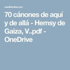 70 cánones de aquí y de allá - Hemsy de Gaiza, V..pdf - OneDrive