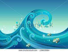 Imagens Do Mar Vetores e Vetores clipart Stock | Shutterstock
