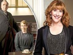 DOWNTON'S Phyllis Logan just loves her other life as housekeeper Mrs Hughes, no matter how many corsets she has to wear. And rumours that she'll be running a B&B with Mr Carson are just below-stairs gossip – as Paula Kerr reports