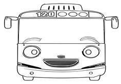 7300 Koleksi Gambar Hitam Putih Tayo Gratis Terbaik