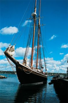 """Bluenose"" Lunenburg, Nova Scotia"