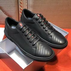 Prada Lace-Up Sneaker