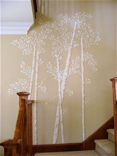 raised-wall-art-trees. Tutorial.