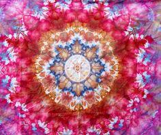 GORGEOUS Mandala Ice Dye Tapestry ~ Wall Hanging