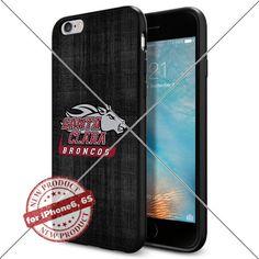 WADE CASE Santa Clara Broncos Logo NCAA Cool Apple iPhone6 6S Case #1513 Black Smartphone Case Cover Collector TPU Rubber [Black] WADE CASE http://www.amazon.com/dp/B017J7S5CG/ref=cm_sw_r_pi_dp_R1Zvwb1SVR8X2