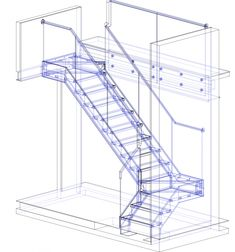 Staircase Design Modern, Staircase Railing Design, Metal Garden Furniture, 2 Storey House Design, Iron Gate Design, Glass Stairs, Architectural Engineering, Building Stairs, Stair Steps