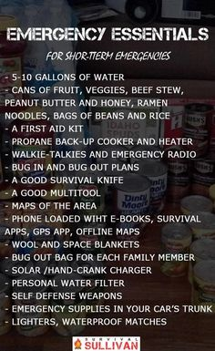 The Complete Emergency Essentials List for SHTF – Survival Sullivan Shiny Survival Gear Skills Related posts:Free Emergency Preparedness Gear - SHTFPreparedness - Kostenlose Notfallausrüs.Survival Hacks: Over 200 Ways to Use Everyday Items. Emergency Preparedness Kit, Emergency Preparation, Emergency Supplies, Emergency Food, Survival Prepping, Survival Skills, Survival Supplies, Wilderness Survival, Survival Essentials