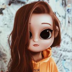 Ruivinha fofa Kawaii Girl Drawings, Cute Cartoon Drawings, Cute Girl Drawing, Cute Cartoon Girl, Girly Drawings, Cartoon Girl Drawing, Cartoon Art, Disney Drawings, Cute Girl Wallpaper