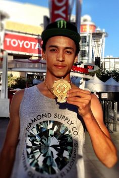 Got gold for X Games Real Street, so hyped!!!