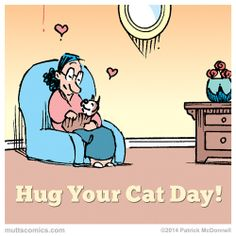 Let's celebrate Hug Your Cat Day!