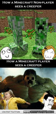 Creeper Hulk! ohz my goodness