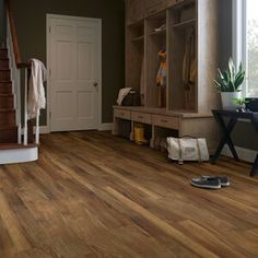 Mannington Restoration Collection® 6'' x 51'' x 12mm Oak Laminate Flooring & Reviews   Wayfair Oak Laminate Flooring, Vinyl Plank Flooring, Kitchen Flooring, Luxury Vinyl Tile, Luxury Vinyl Plank, Vinyl Tiles, Types Of Flooring, Wood Design, Rustic Wood