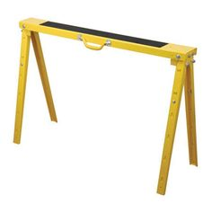 Duracraft Pro Folding Metal Adjustable Sawhorse