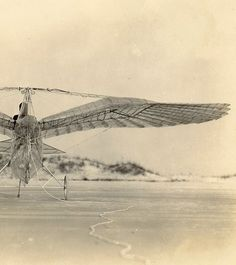 George White Ornithopter, 1928  (via Paul Dunlop, from the personal collection of Tim White - the inventor's grandson)