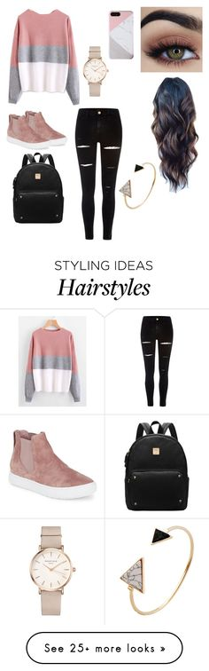 """Untitled #92"" by pinkj3w3l on Polyvore featuring Vince, River Island and ROSEFIELD"
