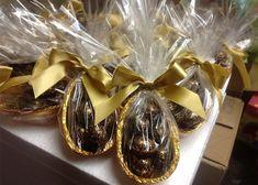Curso de ovo da páscoa para vender Chocolate Packaging, Chocolate Lovers, Cute Food, Afternoon Tea, Fudge, Easter Eggs, Cake Decorating, Easy, Food Porn