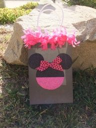 minnie mouse party favor bag
