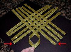 1.Сделай чудесную звезду своими руками! Сказочное украшение для елки.