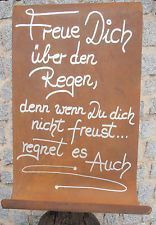 Sprüche Edelrost Chalkboard Rain Scroll Rust Metal Garden Signboard Gedichttafel Wetter Book Your Photos and Leave Memories to Your Children We are at. Rain Quotes, Cool Slogans, German Quotes, Rain Garden, Indoor Garden, Romantic Quotes, Hand Lettering, Chalkboard, Funny Quotes