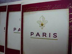 Paris Fleur De Lis Elegant Parisian Card House by LeFrenchChateau, $7.00