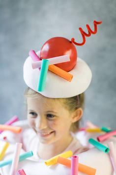 With a cherry on top! http://www.stylemepretty.com/living/2015/10/14/diy-halloween-costume-cupcake/ | Photography: Ruth Eileen - http://rutheileenphotography.com/