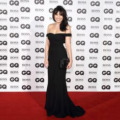 Daisy Lowe wearing Dolce&Gabbana for GQ Men Of The Year Awards 2016 at Tate Modern on September 6, 2016 in London, England.