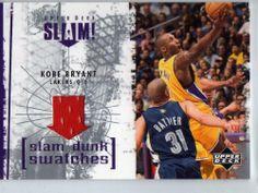 2005-06 Upper Deck Slam Dunk Swatches Kobe Bryant #Sl-kb by upper deck. $30.00. 2005 slam dunk swatches