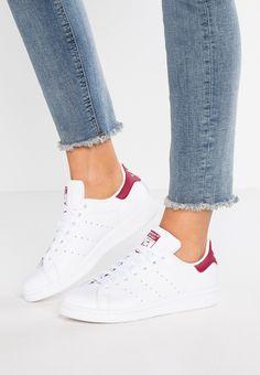 adidas Originals STAN SMITH EXCLUSIVE - Sneakers - footwear white/clear burgundy - Zalando.se