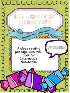 This is a part of a bigger Unit coming soon Included - 2 page close reading passage at 690L 1 page Q&A comprehension checkMinibook that can be used for fun or to put in an interactive notebookTeacher Directions including an introductory youtube video link