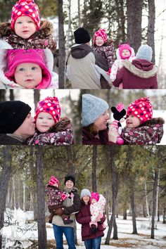 Baby it's cold outside! Winter Family photo session in below 0 degrees weather.   Swift Sparrow Photography   Yellowknife Northwest Territories Canada  