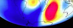 Le champ magnétique terrestre s'intensifie sur l'océan Indien - 7 Lames la Mer #oceanindien
