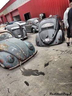 Oval volkswagon, Bug, Rusted and need work