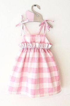 Magnolia Pinafore Dress | MissLylaBoutique on Etsy