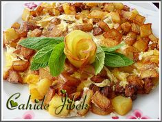 Patates Mıhlaması / Patatesli Omlet