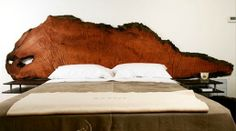 Ancient Redwood Headboard