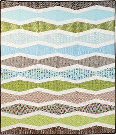 New Wave Free Pattern: Robert Kaufman Fabric Company