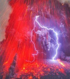 Photo : Les orages volcaniques