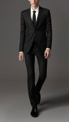Men's Suits & Tuxedos | Burberry | Wool, Rear view and Suits