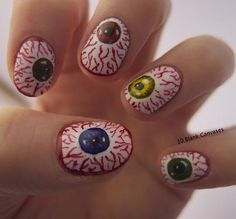 Halloween nails?
