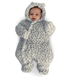 Mothercare Leopard Snowsuit for when my princess gets here