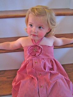 Toddler Halter Dress