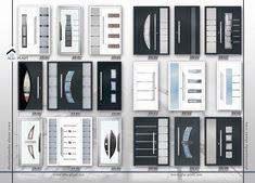 Aluminium front door Home Door Design, Door Gate Design, Main Door Design, Aluminium Front Door, Glass Front Door, Interior Door Styles, Door Design Interior, Beautiful Front Doors, Modern Front Door